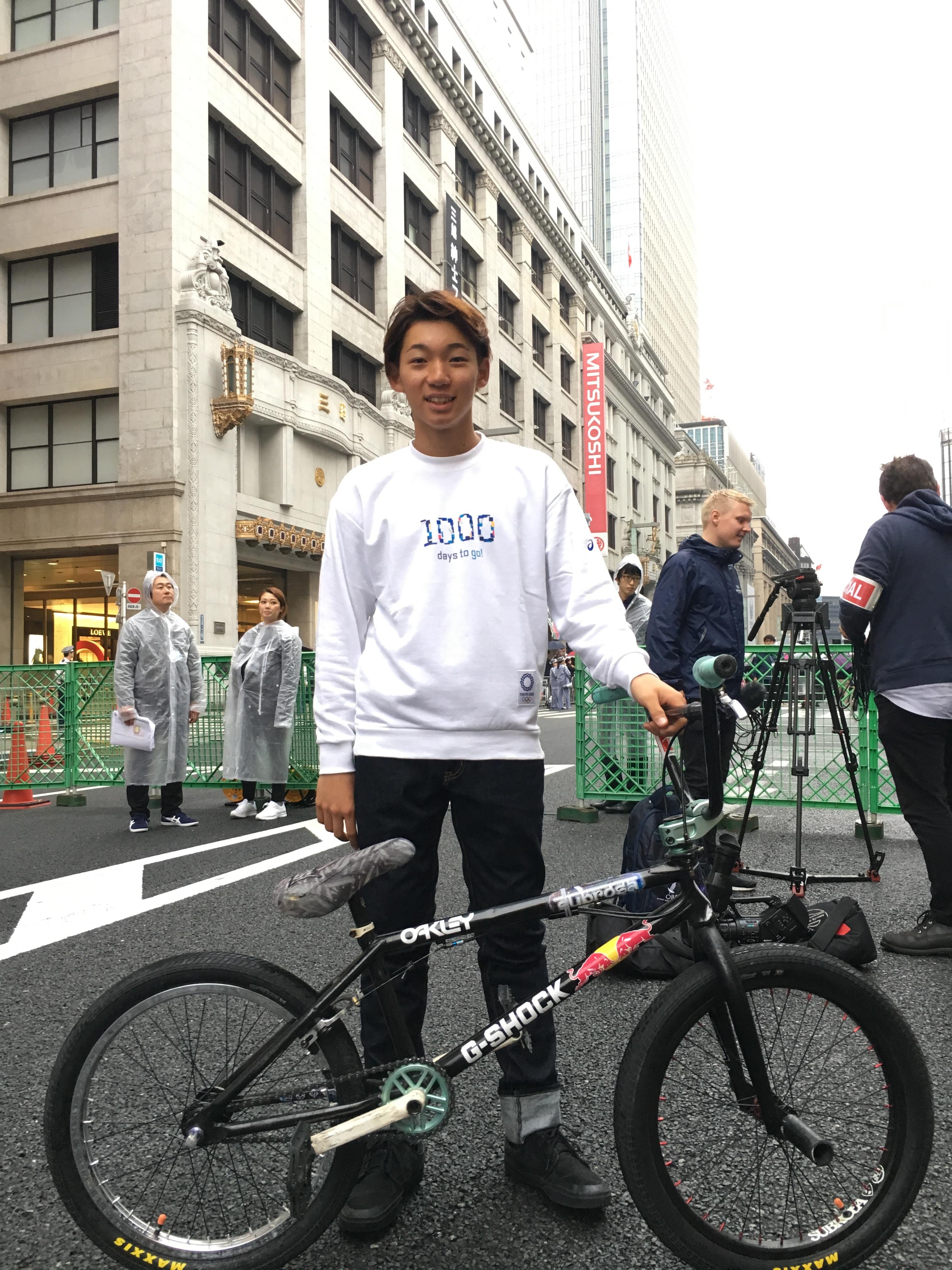 【中村輪夢】東京五輪1000日前イベント出演のお知らせ