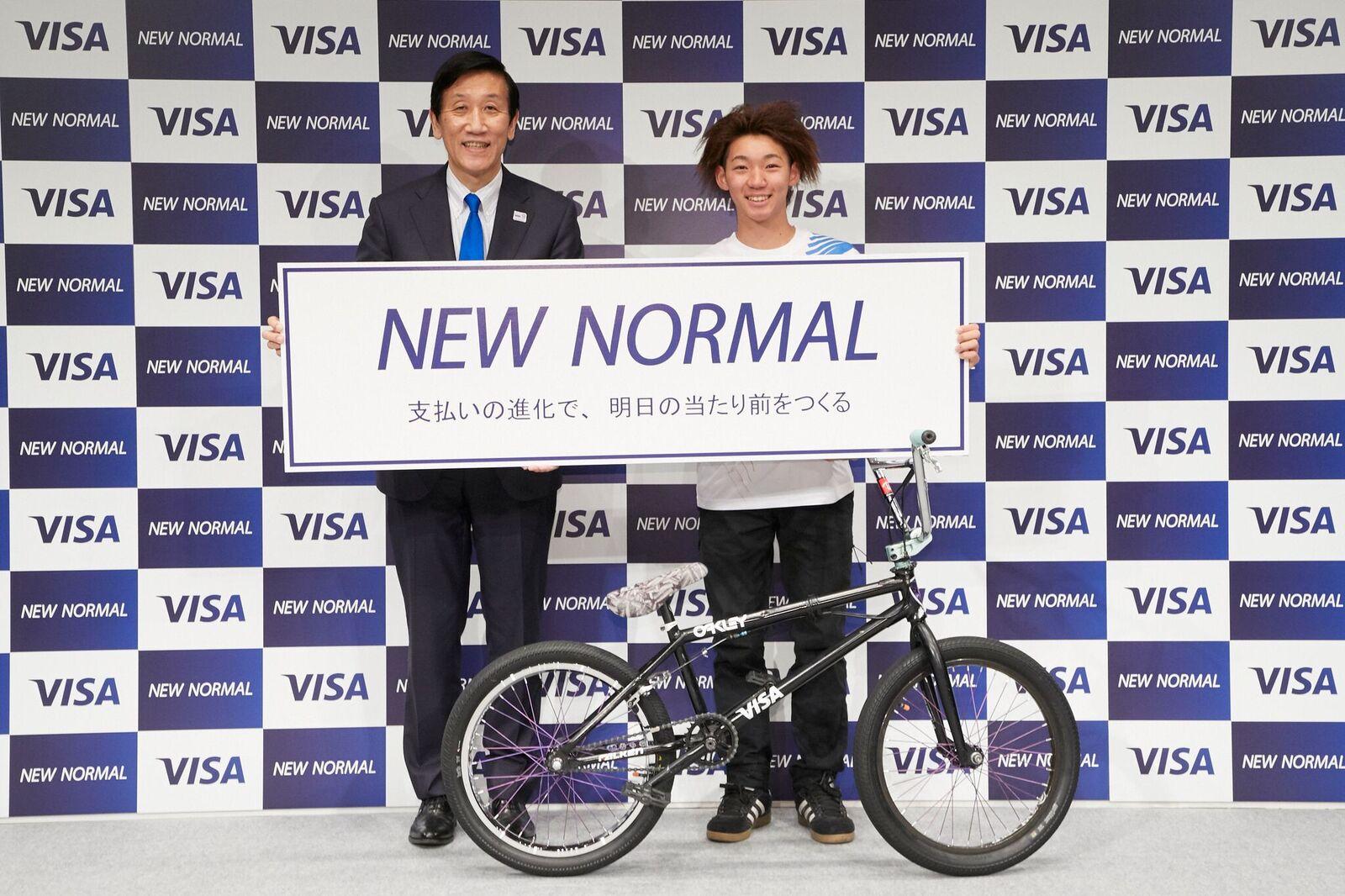 【中村輪夢】VISA Japanとのスポンサー契約締結のお知らせ