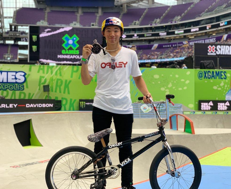 【中村輪夢】X Games Minneapolis 2019 銀メダル獲得!